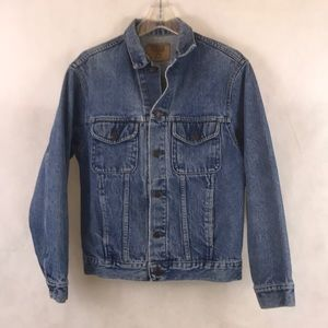 Vintage Men's Denim Jean Jacket Size Medium